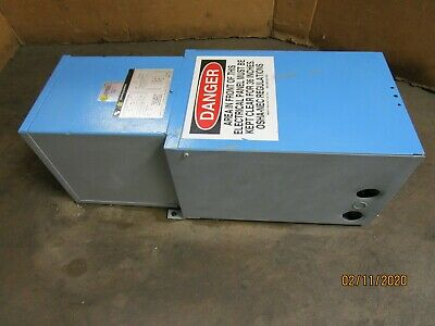 Square D Mpz10s40f 10kva Mini Power-zone Transformer H.v. 480 L.v. 120240 1ph