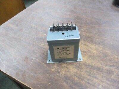 Scientific Columbus Halltiplier Current Transducer 4040 Input0-5a Ac Used