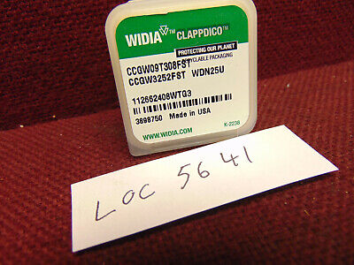 Widia Ccgw Diamond Insert Ccgw9t308fst Wdn25u Loc4688