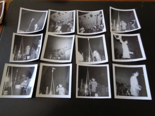 JIMMY PAGE THE YARDBIRDS  RARE ORIGINAL SNAPSHOT PHOTOGRAPHS CIRCA AUGUST 1966