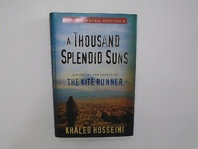 A Thousand Splendid Suns by Khaled Hosseini (2009, HC/DJ, Illustrated)