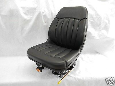 Black Suspension Seat Bobcat S130s150s160s175s185s205s220skid Steer Om