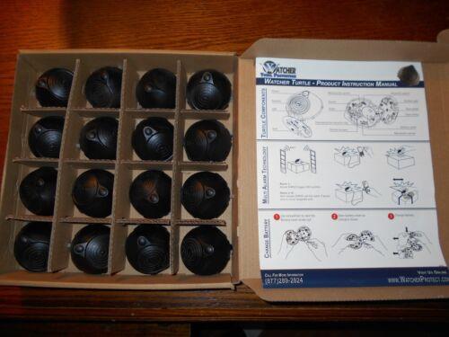 Watcher WP-TUR-AM-B Turtle Security Sensor, Alarm Tag Anti Theft, NEW Box of 16