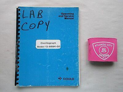 Gould Oscillograph Model 13-6684-00 Operating Service Manual