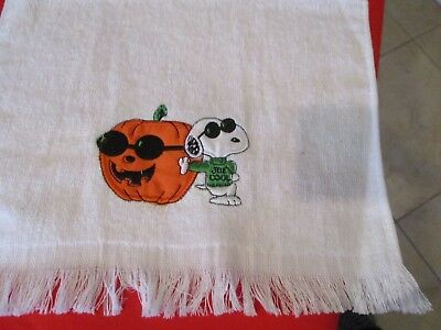 Embroidered SNOOPY JOE COOL