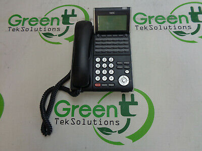 Grade B Nec Dtl-24d-1 Dt300 Series Dlvxd Z-ybk 24-button Ip Voip Phone Qty