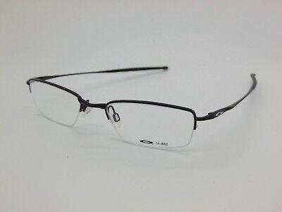 New OAKLEY JACKKNIFE 4.0 11-862 Polished Black 51mm Rx Eyeglasses