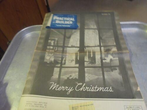 Vintage December 1941 Practical Builder Magazine