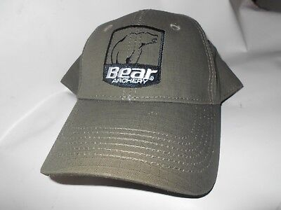 a504285922b  NEW  Bear Archery Green Cap! baseball hat