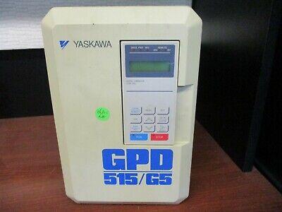 Yaskawa Gpd515g5 Cimr-g5m27p5 Spec 27p51f Inverter Frequency Drive