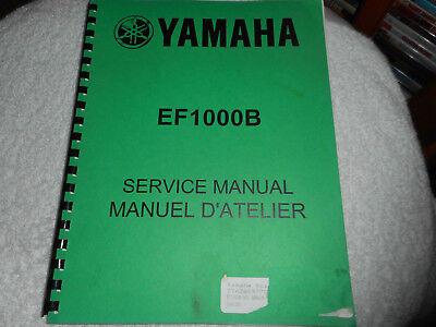 Yamaha EF1000B Generator service manual , 7TA-28197-70 for sale  Williams Lake