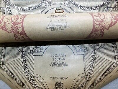 Pianola Piano Rolls 3 All Composed by Eric Coates
