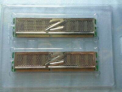 OCZ 2GB 2 x 1GB 184-Pin DDR1 DDR400 PC 3200 Dual Channel Kit Desktop TESTED Ddr Pc 3200 Dual Channel