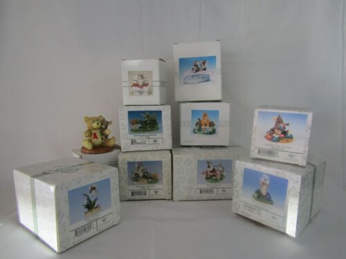 Charming Tails Lot 10 Different Figurines by Fitz & Floyd, Dean Griff, Silvestri