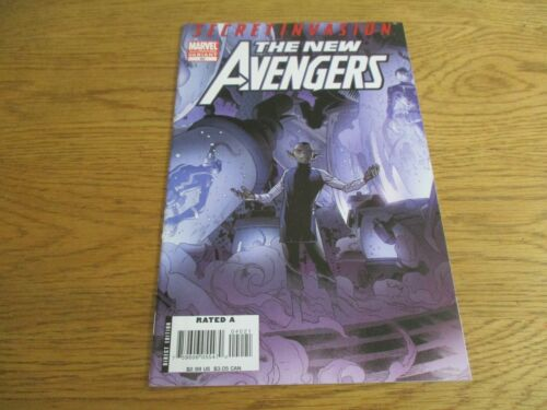 NEW AVENGERS #40 2ND PRINT VARIANT 1ST APP SKRULL QUEEN VERANKE MARVEL COMICS