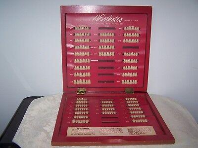 Vintage Dental 234 Piece Myersons Aesthetic Porcelain Teeth Anteriors