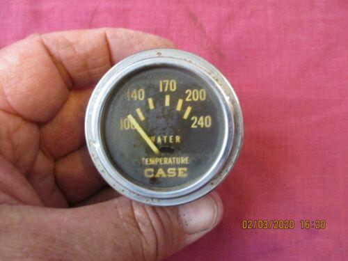 vintage case tractor water temperature gauge