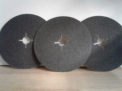 7 X 516 Silicon Carbide Floor Sanding Edger Disc100 Grit 50 Perbox