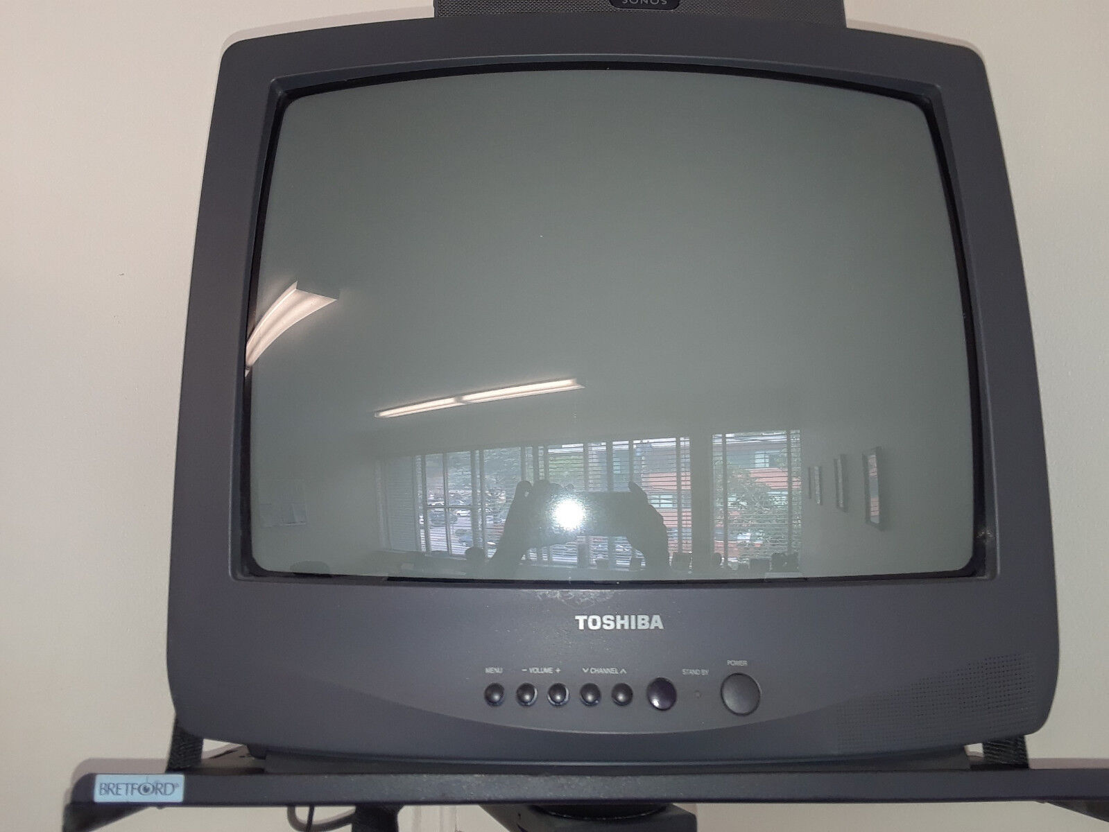 """Toshiba C219M31 19"""" CRT Tube Television  with remote"""