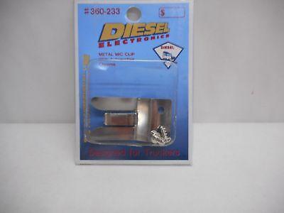 Diesel Electronics CB Ham Radio Microphone metal Hook Holder -