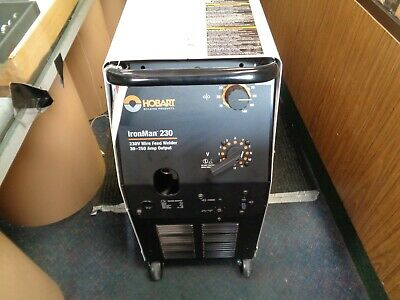 Hobart Iron Man 230 Series Mig Welder With Hobart Kit New