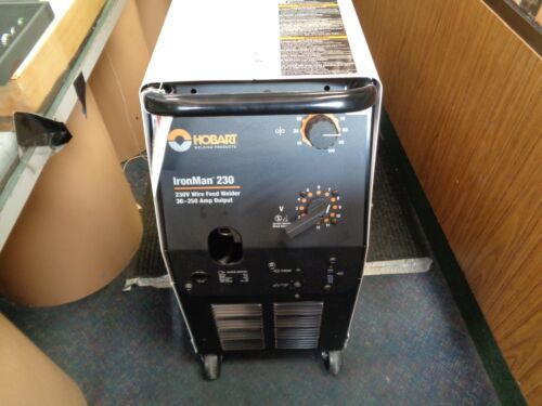 HOBART IRON MAN 230 SERIES MIG WELDER WITH HOBART KIT (NEW)