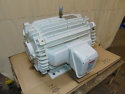 10 Hp Toshiba High Efficiency 3 Phase Electric Induction Motor 875 Rpm Usa Made