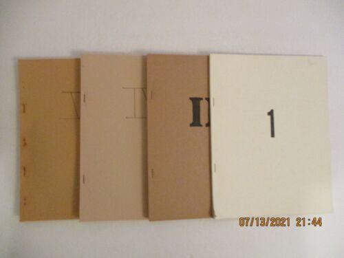 VINTAGE R & R  STAR TREK FANZINE #1, 2, 4 AND 5 (1976/)