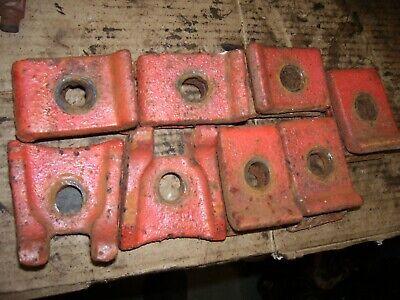 Vintage Ji Case 630 Gas Row Crop Tractor -rear Wheel Clamps