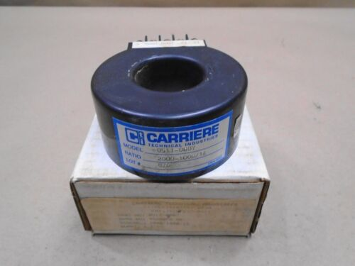 NEW Carriere 0511-0807 Current Transformer Ratio 2000-1000/1A 05110807