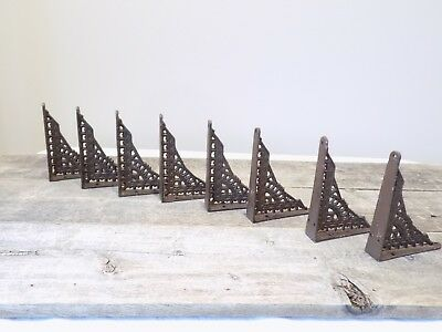 12 Antique Style Shelf Brace Wall Bracket Cast Iron Brackets SMALL 5 x 4 Restore