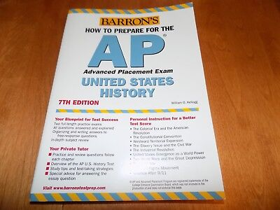 HOW TO PREPARE FOR THE AP ADVANCED PLACEMENT EXAM UNITED STATES HISTORY (United States History Preparing For The Ap Exam)