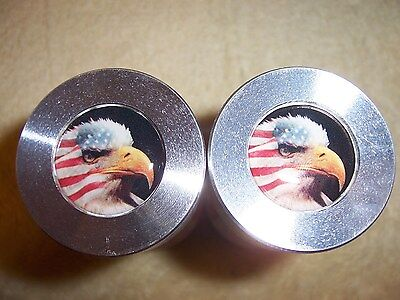 Two Hole Pins Custom American Eagle 2 Hole Flange Pins 12 To 1-58 Knurled