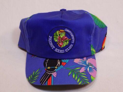 Jimmy Buffett Parrot Head Club Baseball Cap Snapback Hat Accent Tropical Blue