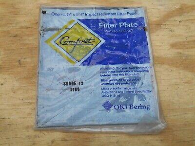 Comfort Filter Plate Welding Shade 12 4.5 X 5.25