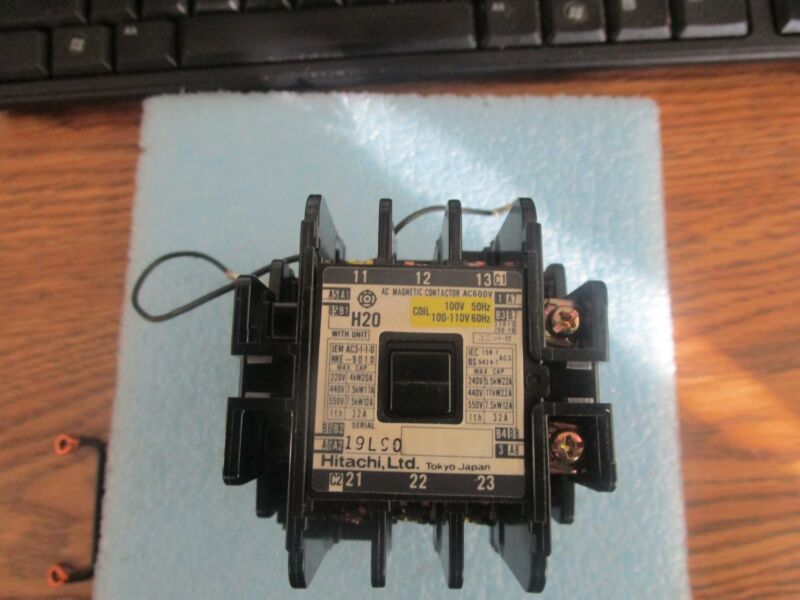 Hitachi Model: H20  AC Magnetic Contactor with CS-8 Coil Surge Absorber  <