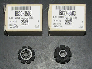 Genuine Ricoh Reverse Rollers / Finisher Stack Rollers QTY2 B830-3503 B8303503
