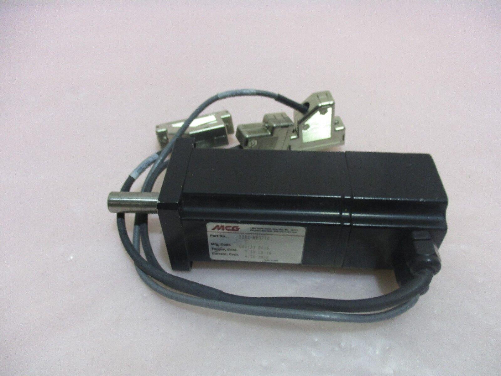 MCG 2282-ME3776, Servo Motor, 4.76A, 7.50 LB-In Torque. 416354
