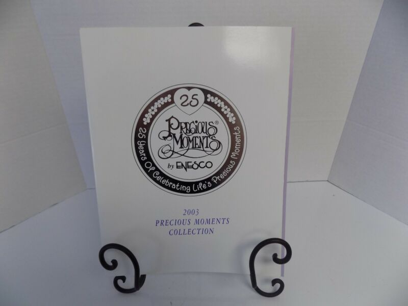 Precious Moments 2003 25 Years of Celebration Book of Collectables 160 Pages