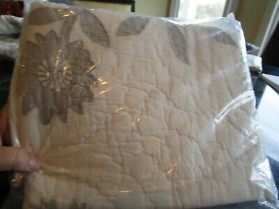2 Pottery Barn Lilo tropical quilted standard  shams New