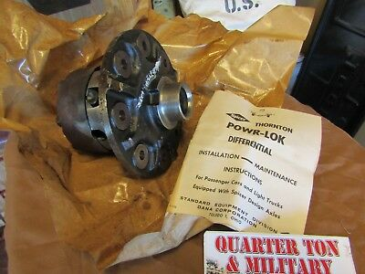 Jeep Kaiser Willys Dana 27 front axle NOS Power lock Diff carrier 22480X for sale  Shipping to Canada