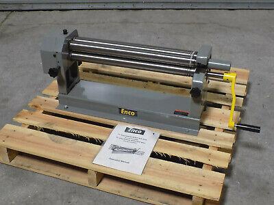Enco Manual Bench Slip Roll 24 Width X 20 Gauge Capacity 61118881