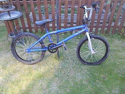 BLANK MEDIA BLUE BMX BIKE