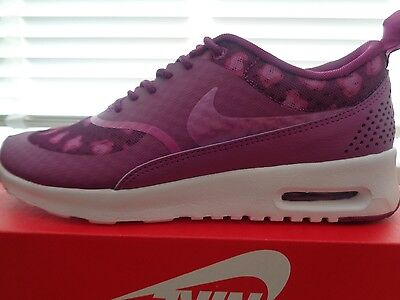 Nike Air Max Thea print womens trainers 599408 501 uk 4 eu 37.5 us 6.5 NEW+BOX