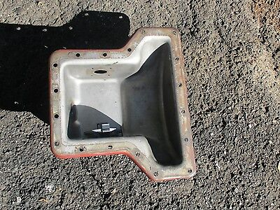 1977 Allis Chalmers 7000 Diesel Farm Tractor Transmission Oil Pan Free Shipping