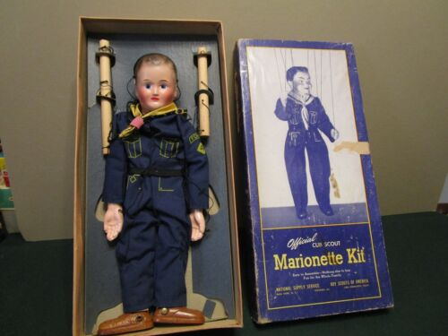 Cub Scout Marionette Kit by Boy Scouts of America - 1949