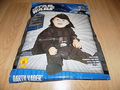 Toddler Size 2-4 Star Wars Darth Vader Halloween Costume Rubie's For Ages 1-2  - Halloween Costumes For Toddlers