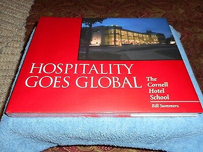 Cornell Hotel Society Hospitality Goes Global Hardcover Text Book Factory Sealed