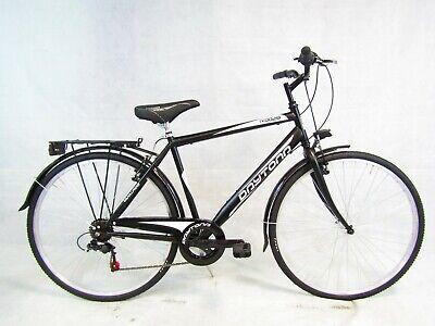 bicicletta uomo bici da passeggio city bike trekking 28 shimano 6 velocita'