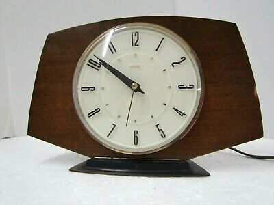 Vintage Metamec  1950's electric  mantel clock